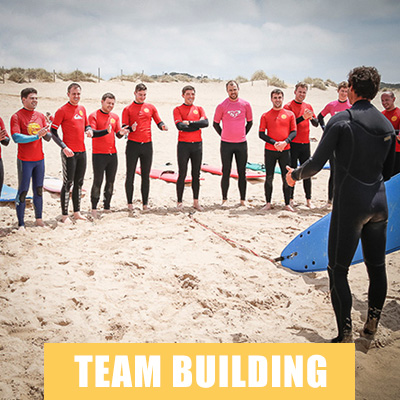 team building, surf school, surf events, surf team building