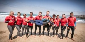 Group Gincho, moana, surf