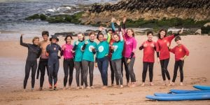 surf group, surf guincho, surf school