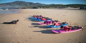 Guincho Beach, portugal , moana, surf school