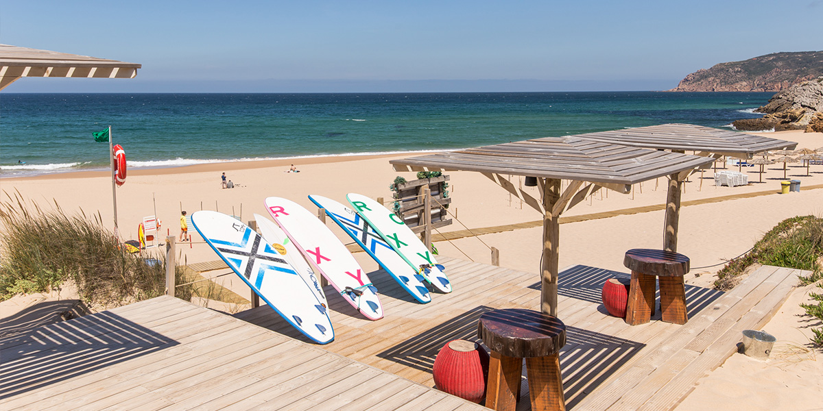 guincho, beach, portugal, lisbon