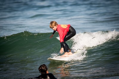 Memories of a 7 year old surfer