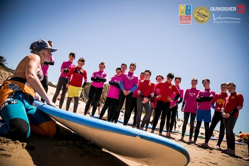 instructor, gaby, surf, moana