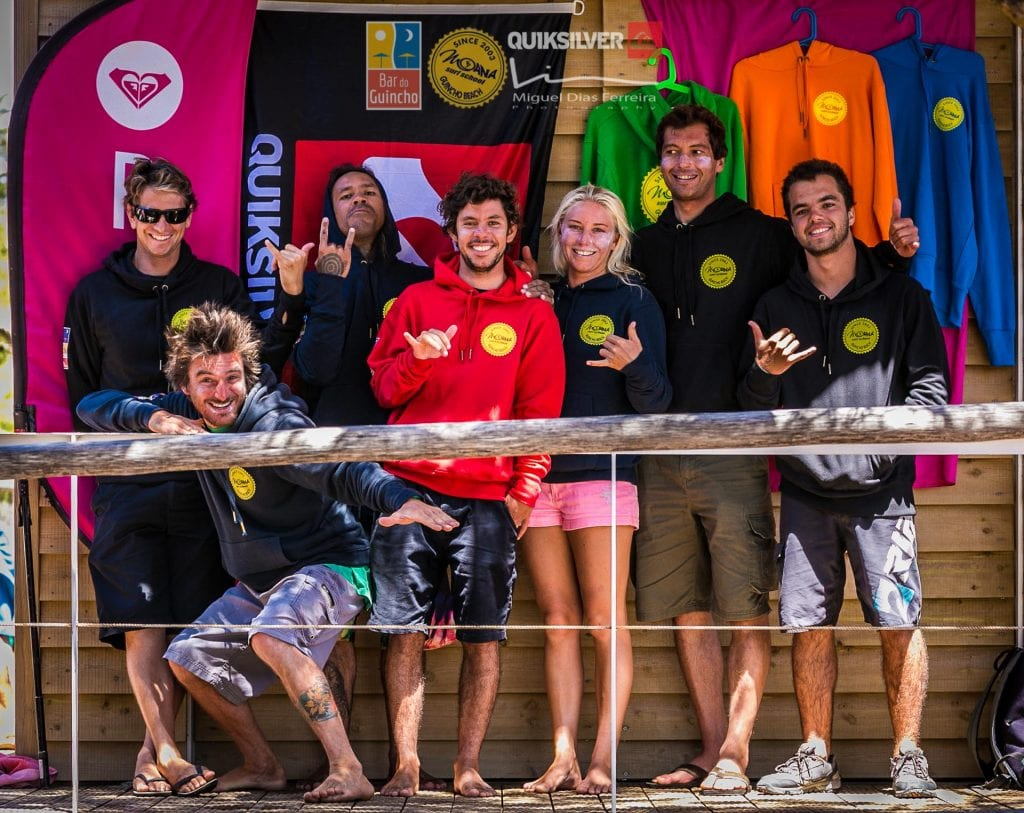 team, surf, school, beach, sea