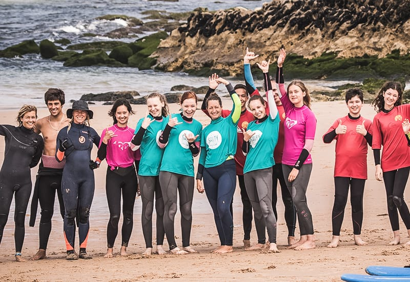 school surf camp summer school guincho