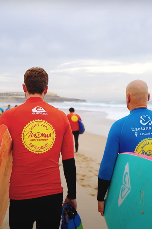 Surfing Team Buildind Event Guincho Beach, Cascais, Lisbon